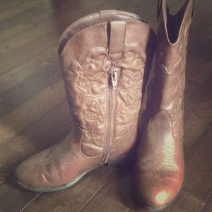 Other - Size 3 Girls Cowboy Boots